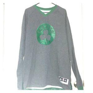 adidas Men's 3XL Boston Celtics Sweatshirt